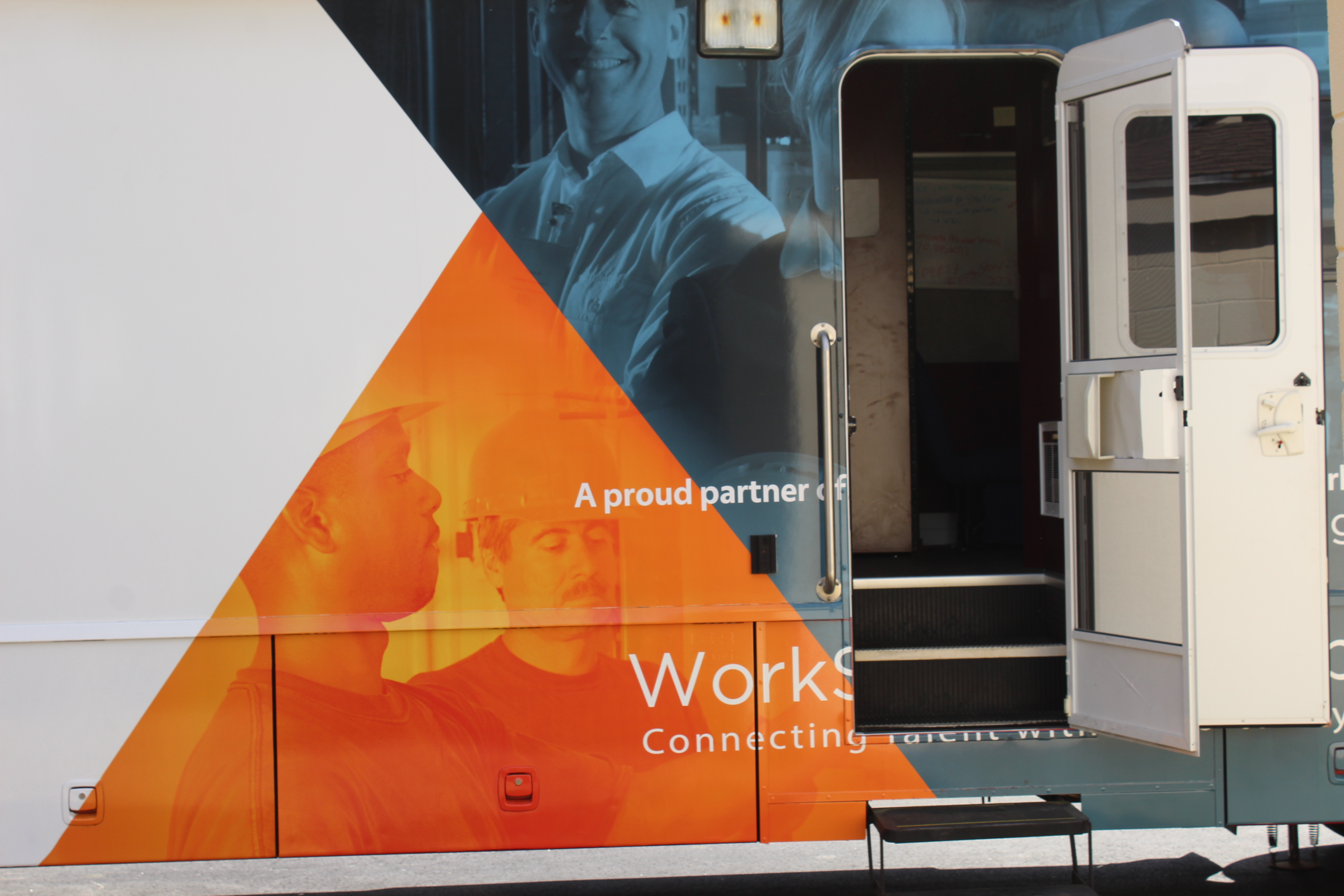 WorkSource Mobile Career Bus