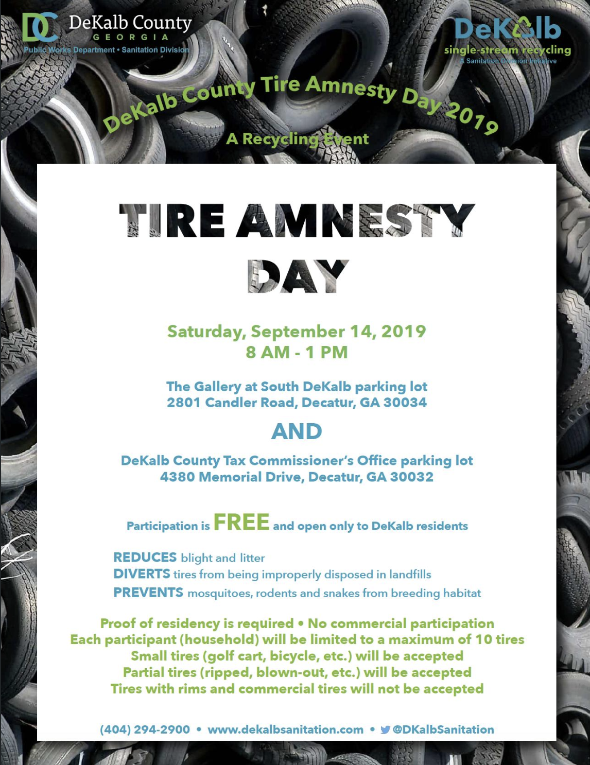 Tire Amnesty Day