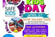 Safe Kids Day Flyer