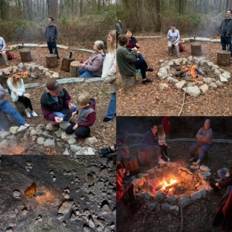 Arabia Mountain campfire