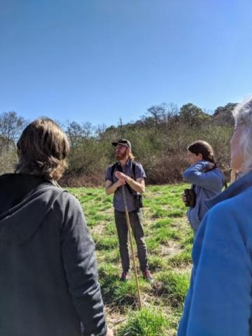Bird ID walk at Arabia Mountain