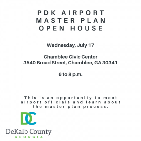 PDK master plan open house
