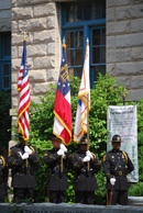 Photo of DeKalb County Police Honor Guard