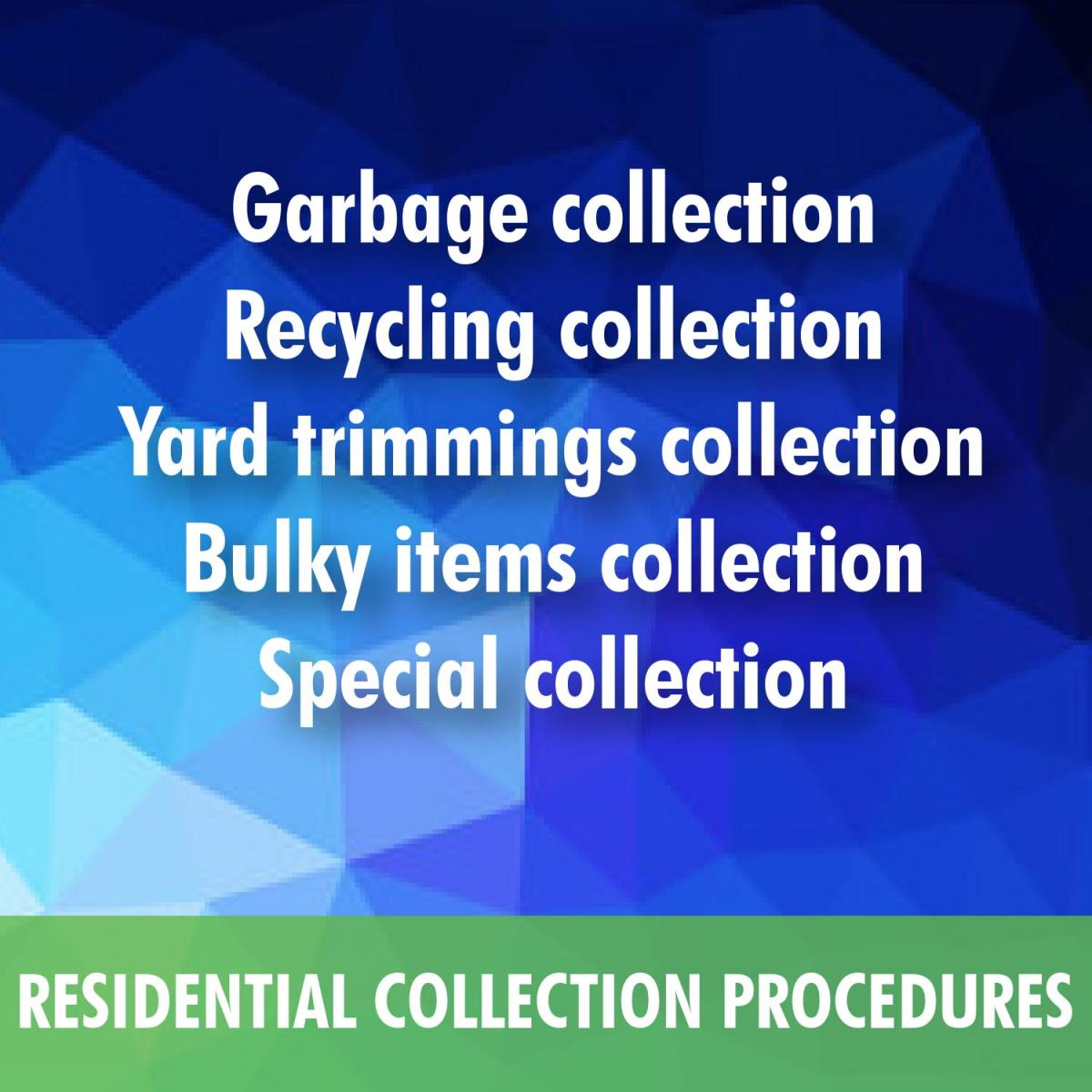 Residential Collection Procedures
