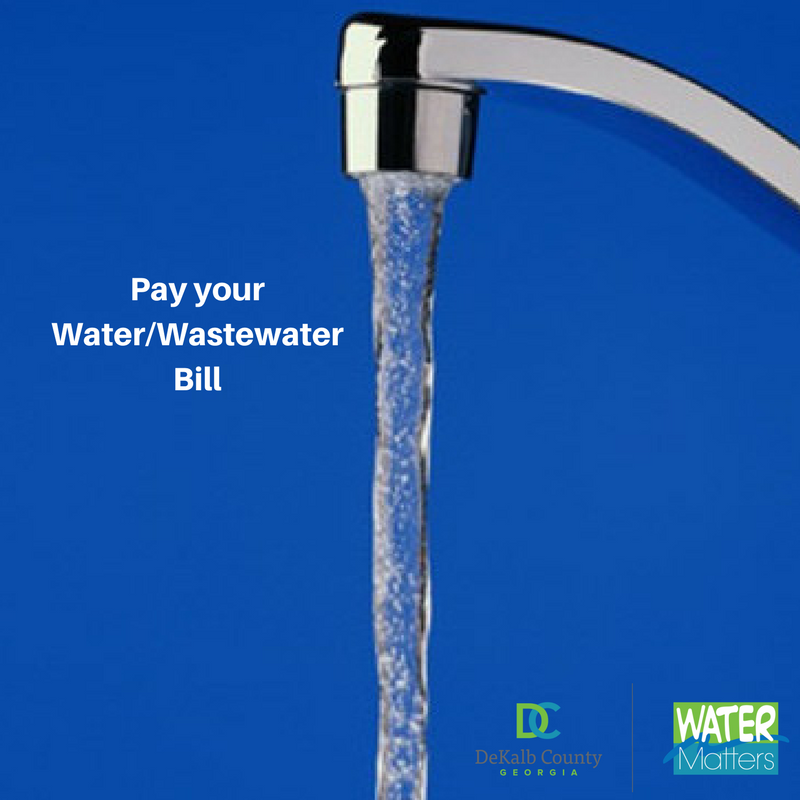Pay Your Water and Sewer Bill