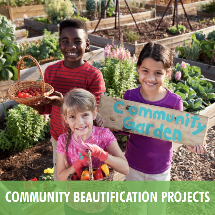 Community Beautification Projects