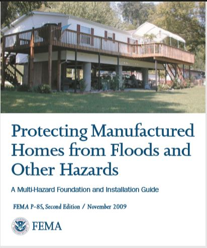 Protecting Manufactured Homes from Floods and Other Hazards Publication