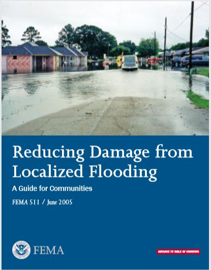 Reducing Damage from localized Flooding Publication
